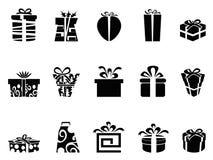 Gåvan boxas symboler stock illustrationer