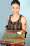 gåvapacke Fotografering för Bildbyråer