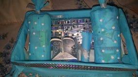 Gåvapacke för nyfött Royaltyfri Foto