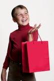 gåvashopping Arkivbild
