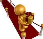 gåvaspecialöverrrakning Fotografering för Bildbyråer
