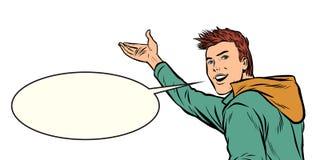 Gåvor för ung man vektor illustrationer