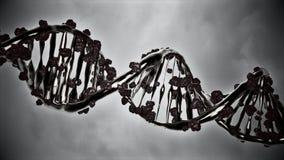 Gène éditant le traitement changeant un brin d'ADN illustration de vecteur