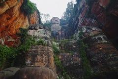 Géant Bouddha de Leshan Images libres de droits