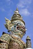 Géant dans Wat Phra Kaew Photo stock