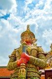 Géant dans Wat Phra Kaew Image libre de droits