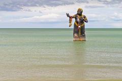 Géant de femme en littérature thaïe. Photo stock
