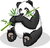 Géant de haute qualité Panda Cartoon Vector Illustration Image stock