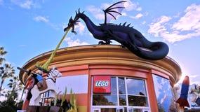 Géant Lego Dragon Image libre de droits