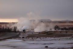 Géiser de Islandia imágenes de archivo libres de regalías