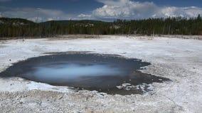 Géiser de Norris en el parque nacional de Yellowstone Fotografía de archivo libre de regalías