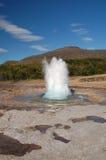 Géiser en Islandia imágenes de archivo libres de regalías