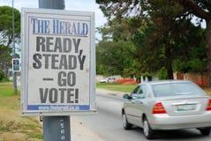 général 2009 d'élections de l'Afrique du sud Photographie stock libre de droits