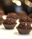 Général de brigade de chocolat Images stock