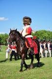 Général de Hussar Photos libres de droits