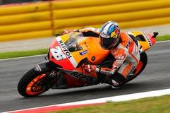 Généraliste de Dani Pedrosa HONDA MotoGP du circuit 2013 de l'Italie Mugello Images stock