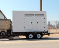 Générateur à moteur diesel Photo libre de droits