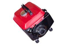 Générateur électrique couru par essence rouge moderne Photographie stock libre de droits