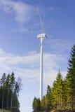 Générateur électrique de moulin à vent de tour Image libre de droits