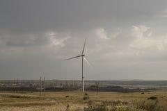 Générateur éolien de Donbass image stock