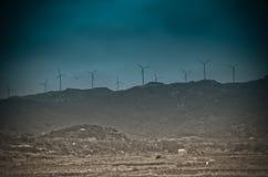 Générateur d'énergie éolienne Photo libre de droits