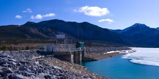 Générateur d'énergie hydraulique Photo libre de droits