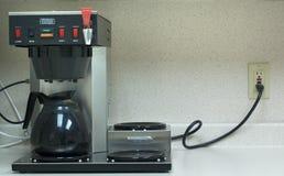 Générateur de café commercial Image stock