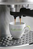 Générateur de café de café express Photo libre de droits
