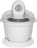 Générateur de crême glacée blanc Photos stock