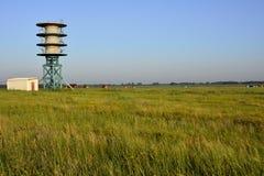 Générateur de vent dans la steppe image libre de droits