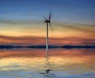 générateur eolic image libre de droits