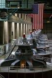 Générateurs de barrage de Hoover Photographie stock