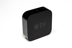 Génération d'Apple TV 4ème Photo stock