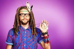 Génération de hippie images libres de droits