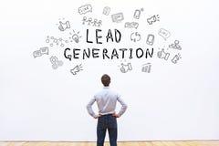 génération de leads Image stock
