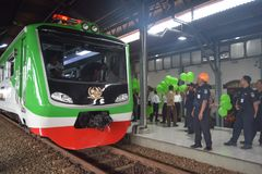 Génération 2 de train d'Inpeksi Image stock