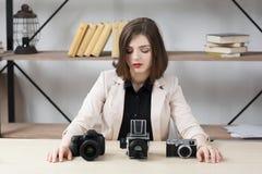 Génération différente de comparaison d'appareil-photo image libre de droits