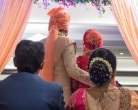 Générations à aller sur - l'Inde Ahmedabad photographie stock libre de droits