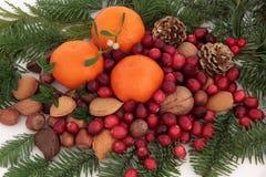 Générosité de Noël images libres de droits