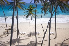 générosité de plage images libres de droits