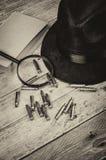 Género del misterio Imágenes de archivo libres de regalías