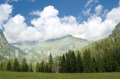 Género do panorama da montanha Imagens de Stock Royalty Free