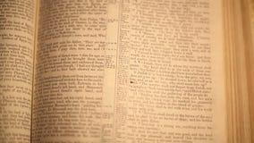 Génesis de la biblia almacen de video