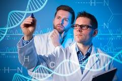 Génie génétique Image stock