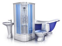 Génie sanitaire 3d Image libre de droits