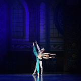"""Génies dans le  de Nights†de l'""""One mille et un de ballet de lampe Image stock"""