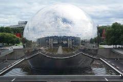 Géode Paris Photo stock