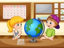 géographie illustration de vecteur