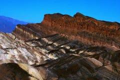 Géologie de Death Valley Photographie stock libre de droits