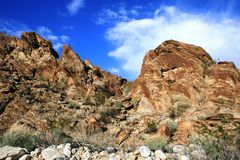 Géologie de traînée de Lykken Image stock